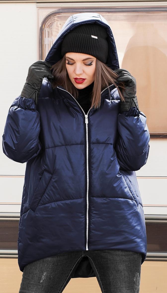 Куртка Lady Secret-7272/1 білоруський трикотаж, синій, 56