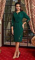 Платье Lissana-4152 белорусский трикотаж, зеленый, 44, фото 1
