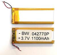 Акумулятор універсальний 042770 7.4 cm х 2.8 cm 3.7v (1100 mAh)