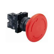 "Кнопка ""грибок"" d60мм с фиксацией NP2-ES642 (1NС) красная пласт. СНІNT"