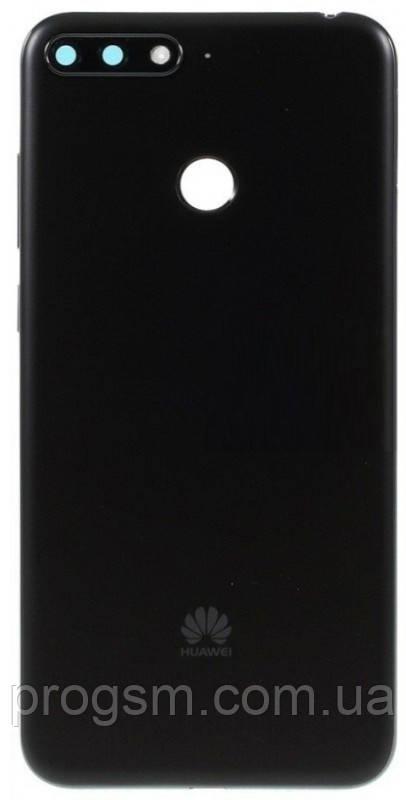 Задняя Часть Корпуса Huawei Y6 Prime 2018 (Atu-L21) Black
