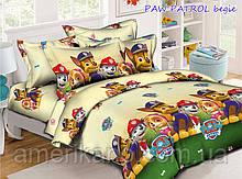 """Постельное белье детское ТАГ 1.5-спальное. Ткань ранфорс. Расцветка для мальчика """"Щенячий патруль"""""""