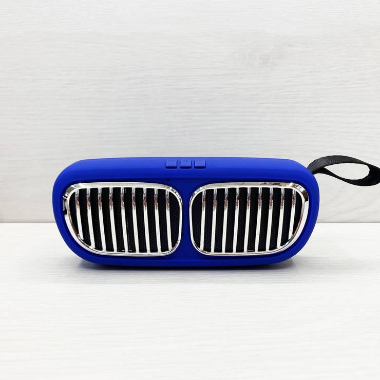 Портативная колонка Wireless Speaker NBS-11 (Cиняя), фото 2
