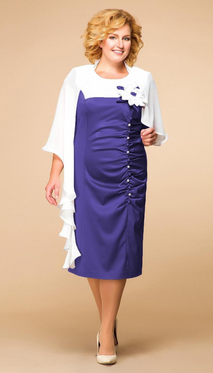 Сукня Romanovich-1-916/2 білоруський трикотаж, волошка, 50