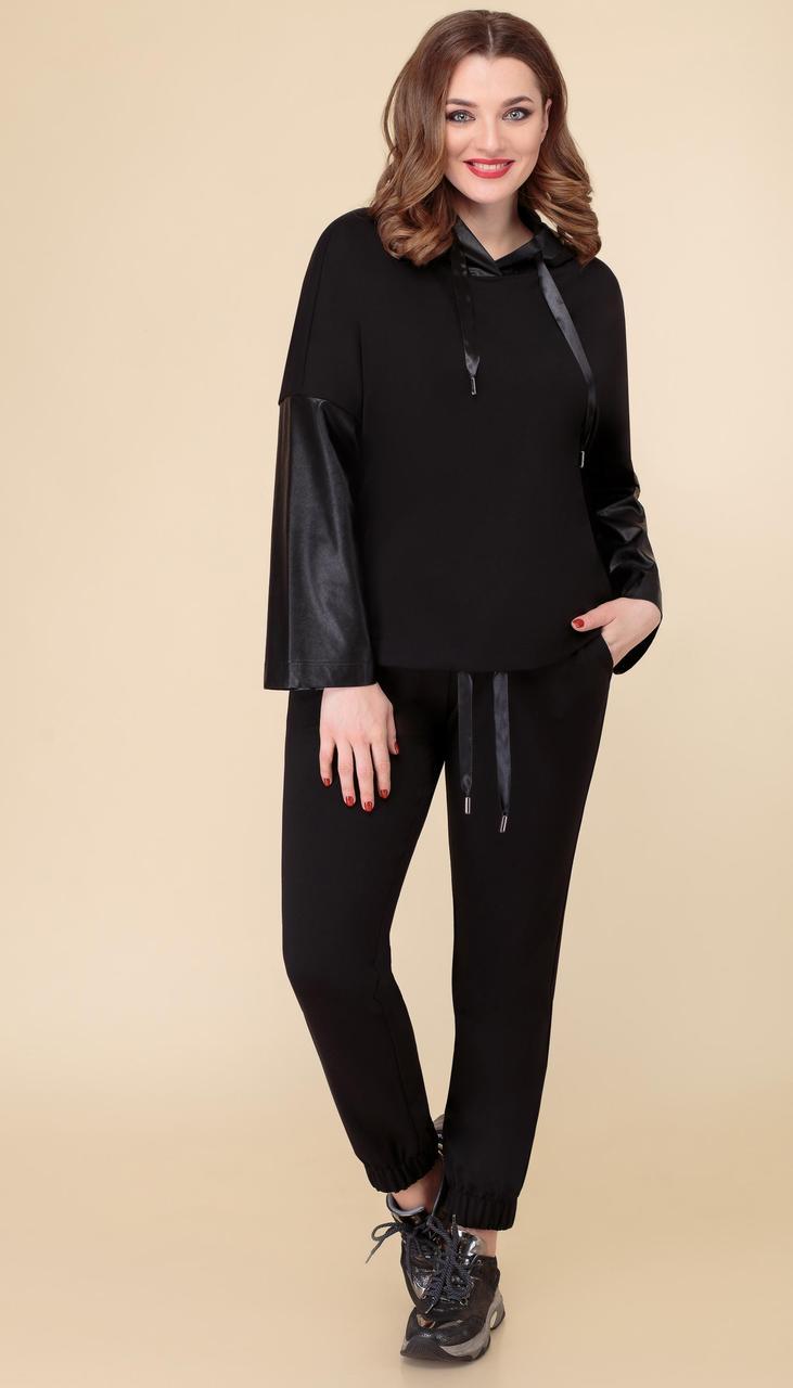 Спортивний одяг Дали-5493 білоруський трикотаж, чорний, 46