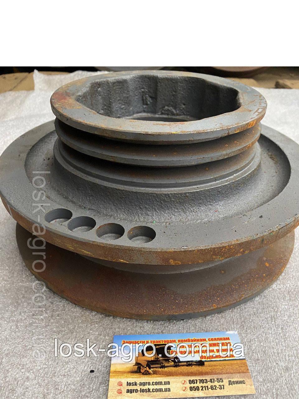 Шкив привода х/части СМД-21 54-10253А СК-5,НИВА