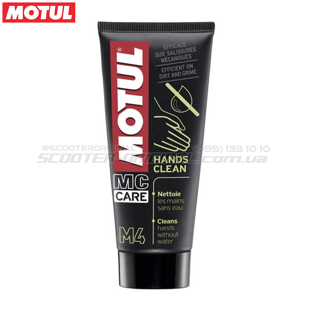 Крем для сухой чистки рук MOTUL M4 Hands Clean (100 мл)