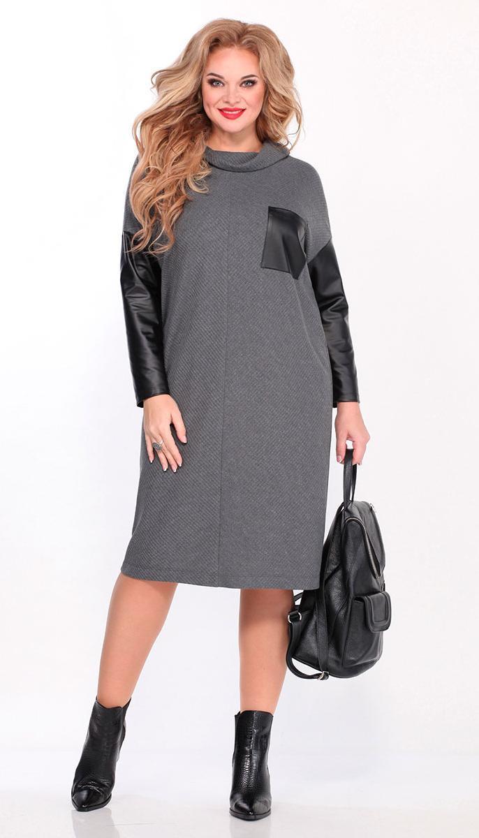 Сукня Matini-31464 білоруський трикотаж, сірий, 54