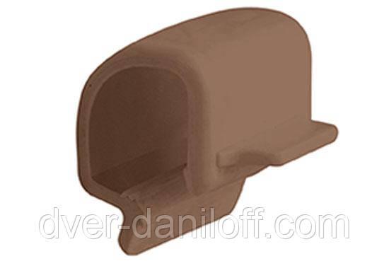 Клипса Альта-Профиль Стандарт коричневый, 200 шт.