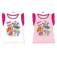 Футболка для девочек оптом, Disney, 3-8 лет,  № 980-323