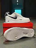 Кросівки чоловічі білі Nike Air Force Найк Аір Форс, фото 4