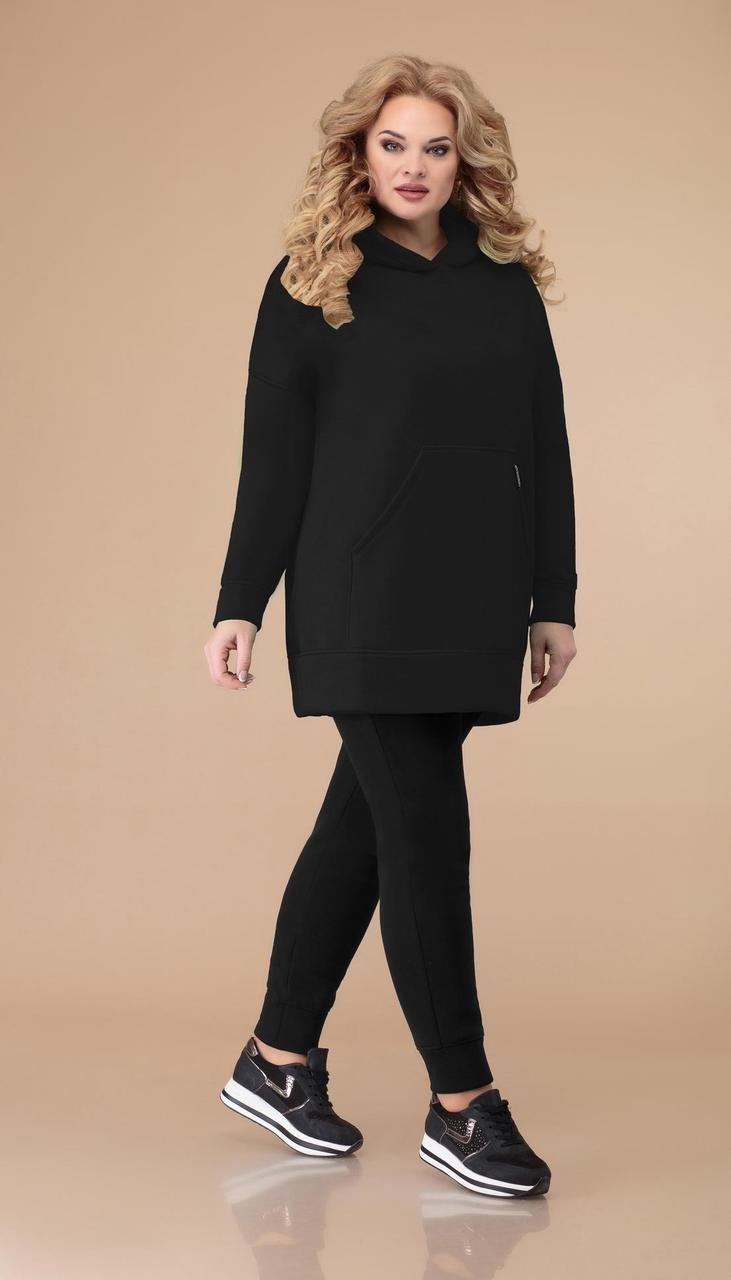 Спортивная одежда Svetlana Style-1497/3 белорусский трикотаж, черный, 46