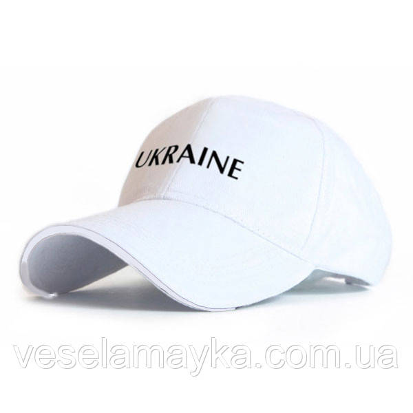 Біла кепка Ukraine (Україна)