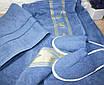 Набір в сауну Merzuka for man Джинсовий колір, фото 2