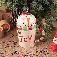 Статуэтка снеговик Joy. Уценка, фото 1
