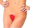 С-стринги белые трусики без резинки для женщин красные, фото 7