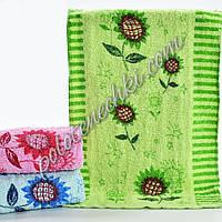 Махровое кухонное полотенце Подсолнух (20)