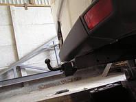 Прицепное устройство (Фаркоп) со съемным крюком VOLKSWAGEN CRAFTER 3,66/4,35 2006+ усиленный