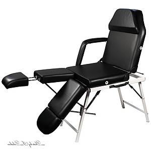 Кресло-кушетка для педикюра, татуажа, депиляции, наращивания ресниц кушетка универсальная педикюрная  ZD802AFM