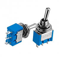 Тумблер MTS-102 (ON-ON), 3pin, 3A 250VAC №10882