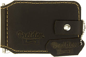 Тримач для грошей коричневий/Breidon/