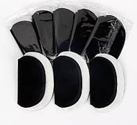 Гигиенические вкладыши для подмышек черные 1 пара (2 шт)