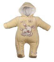 Комбинезон демисезонный для мальчика и девочки SWEET BABY от ТМ LOLA BABY производство Польша размер 74