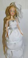 Кукла невеста шкатулка , необычный подарок девушке (женщине) на день рождение