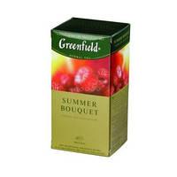 Чай Greenfield Summer Вouquet травяной в пакетиках 25 шт.