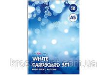 """Набір білого картону """"CFS"""", А5"""