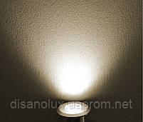 Світильник ґрунтовий K-2801 COB LED 2W 3000К 220V IP65 розмір 42мм * 75мм, фото 8