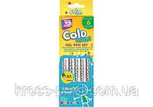 Набор гелевых ручек Cold Shine, 6 цветов металлик