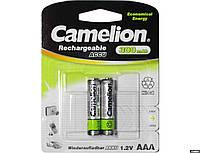 Аккумулятор Camelion R03-2BL Ni-Cd 300 мАч (2 шт)