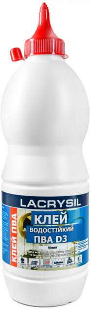 Универсальный водно-дисперсионный клей ПВА D3 Lacrysil 750 гр