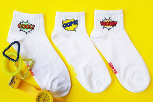 Жіночі шкарпетки короткі