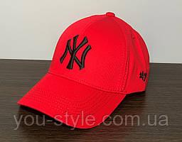 Кепка, Бейсболка New York Красная 166