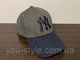 Кепка, Бейсболка New York Тёмно-серая 168
