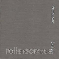 Quartz Zinc Vmzinc Umicore France. Кварц цинк Цинк-титан патинированный светло-серый  Франция