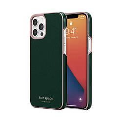Чехол Kate Spade iPhone 12 Pro Max (KSIPH-166-GRPNK)