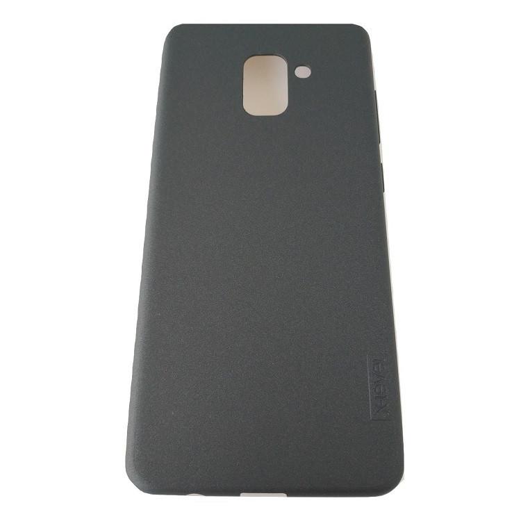 Чохол-накладка X-Level TPU Guardian для Samsung A8 Plus 2018 Black (PC-001724)
