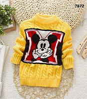 Вязаная кофта Mickey Mouse для мальчика. 2-3 года, фото 1