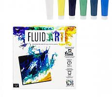 Набор креативного творчества Fluid ART FA-01-01-2-3-4-5 ( FA-01-02)
