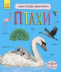 Книга Птахи. Енциклопедія дошкільника. Автор - Юлія Каспарова (Ранок)