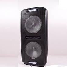 Портативная Bluetooth колонка с 2 микрофонами Euromax 2002 Черный