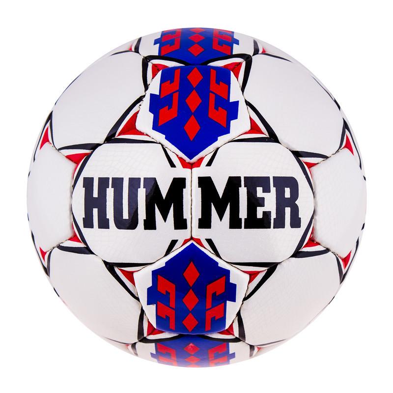 М'яч футбольний DXN Hummer Red/Blue.