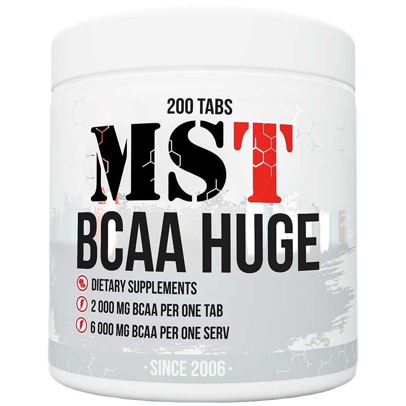 MST BCAA Huge 2000mg 200 tabs