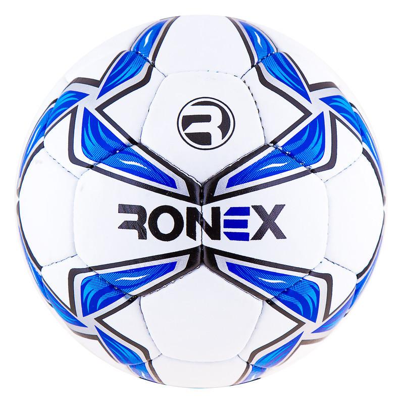 Мяч футбольный Grippy Ronex-MLT, синий.