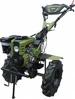 """Культиватор бензиновый Forte 1350G LUX, колеса 12"""", 9 л.с. (зеленый)"""