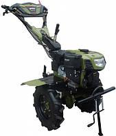 """Культиватор бензиновый Forte 1050G LUX, колеса 10"""", 7 л.с. (зеленый)"""
