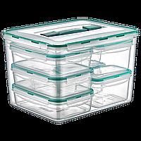 Набор контейнеров KOMBI SET с ручкой, общий обьем 16,8 л